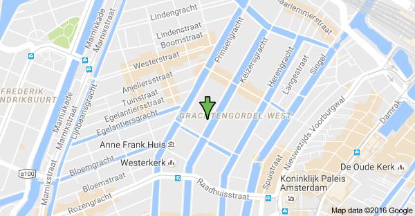 kaart Logopedie Amsterdam Dita Verbeek